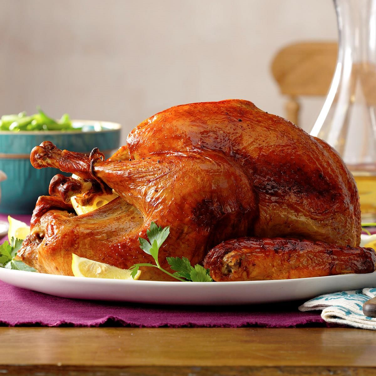 Marinated Thanksgiving Turkey Recipe Thanksgiving Dinner Menu Recipes Thanksgiving Recipes