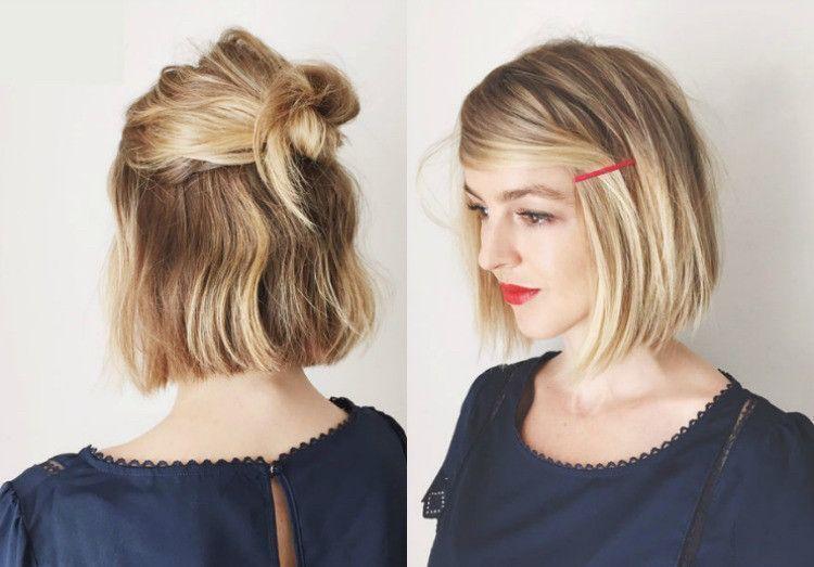 Dutt Frisur Kurze Haare Luxe Kurze Haare Dutt Binden Stilvolle Dutt Dutt Frisur Kurze Haare Luxe Ku In 2020 Hippie Hair Boho Short Hair Hair Styles