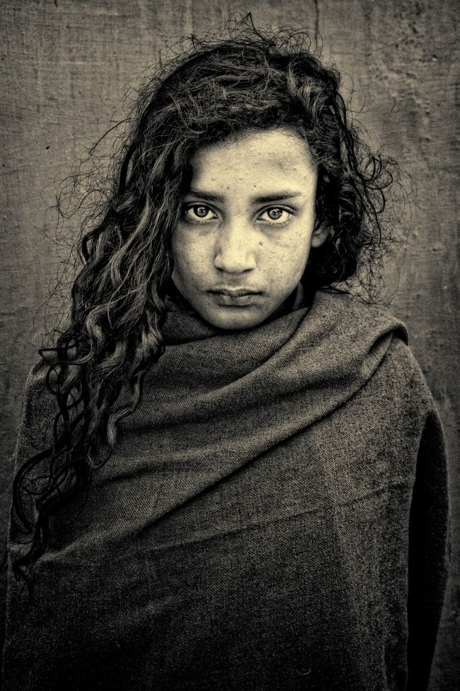Photo of the Day: A curly-haired young girl in India- Photo by Suzi Moore McGregor (Durango, Colorado); Haridwar, India - Smithsonian Magazine tumblr