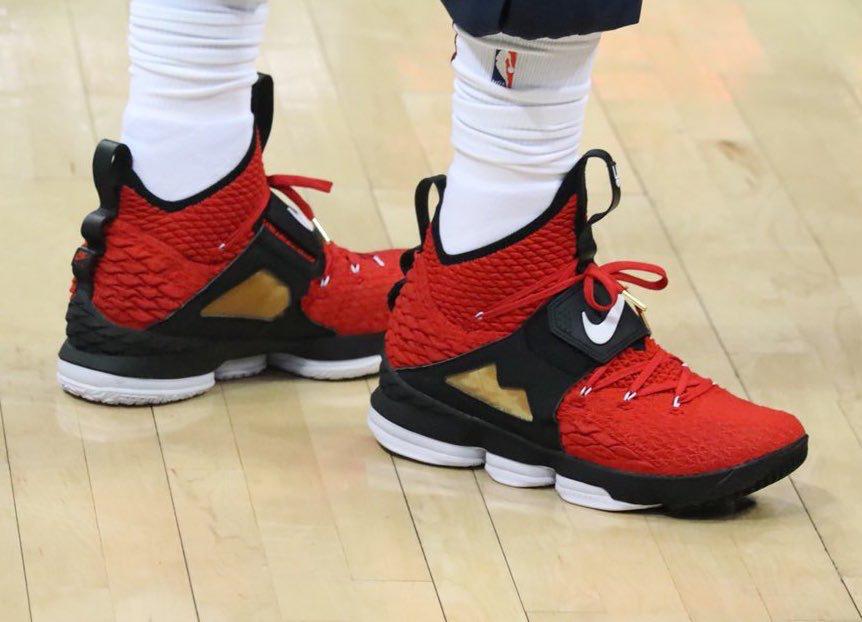 "ba28c2726b173 LeBron James Reveals Alternate Nike LeBron 15 ""Diamond Turf""  sneakerscartel.com lebron"