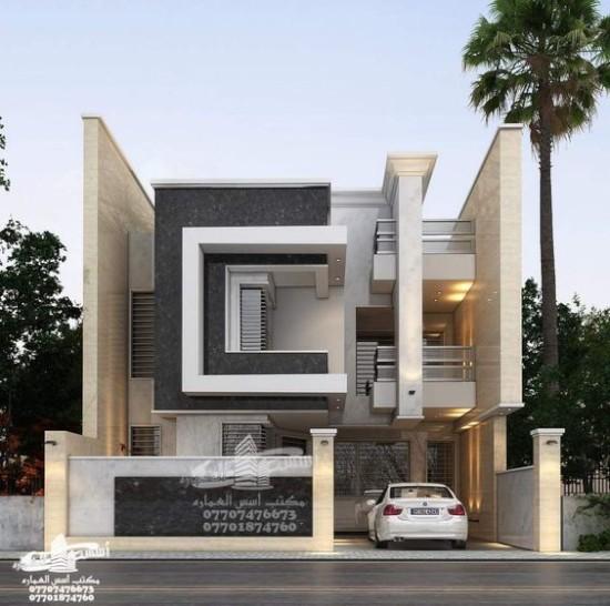 46 Desain Inspiratif Rumah Arab Minimalis Ala Iraqi Desain Eksterior Arsitektur Arsitektur Rumah