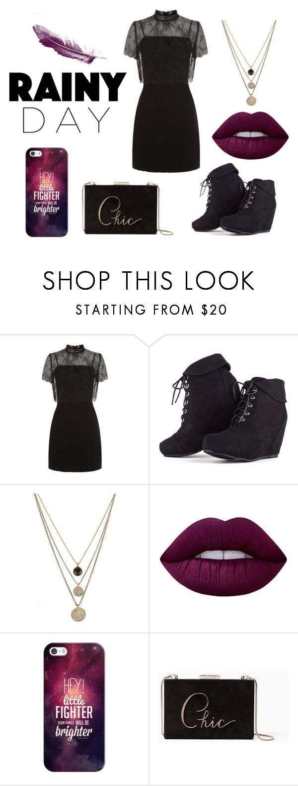 """""""Sin título #562"""" by candy-nohemi-velazco-mendiola ❤ liked on Polyvore featuring Sandro, MARA, LowLuv, Lime Crime, Casetify and Kate Spade"""