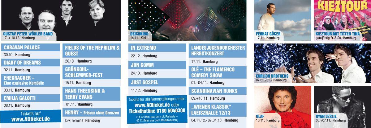Vvk-Stellen- und Postversandflyer für Hamburg // Herbst 2012 // Innenseite