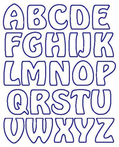 Image result for applique letter templates free   Lettering ...