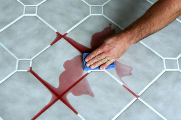 Painting of Tips for Best Way to Clean Tile Grout | Fresh Apartments ...
