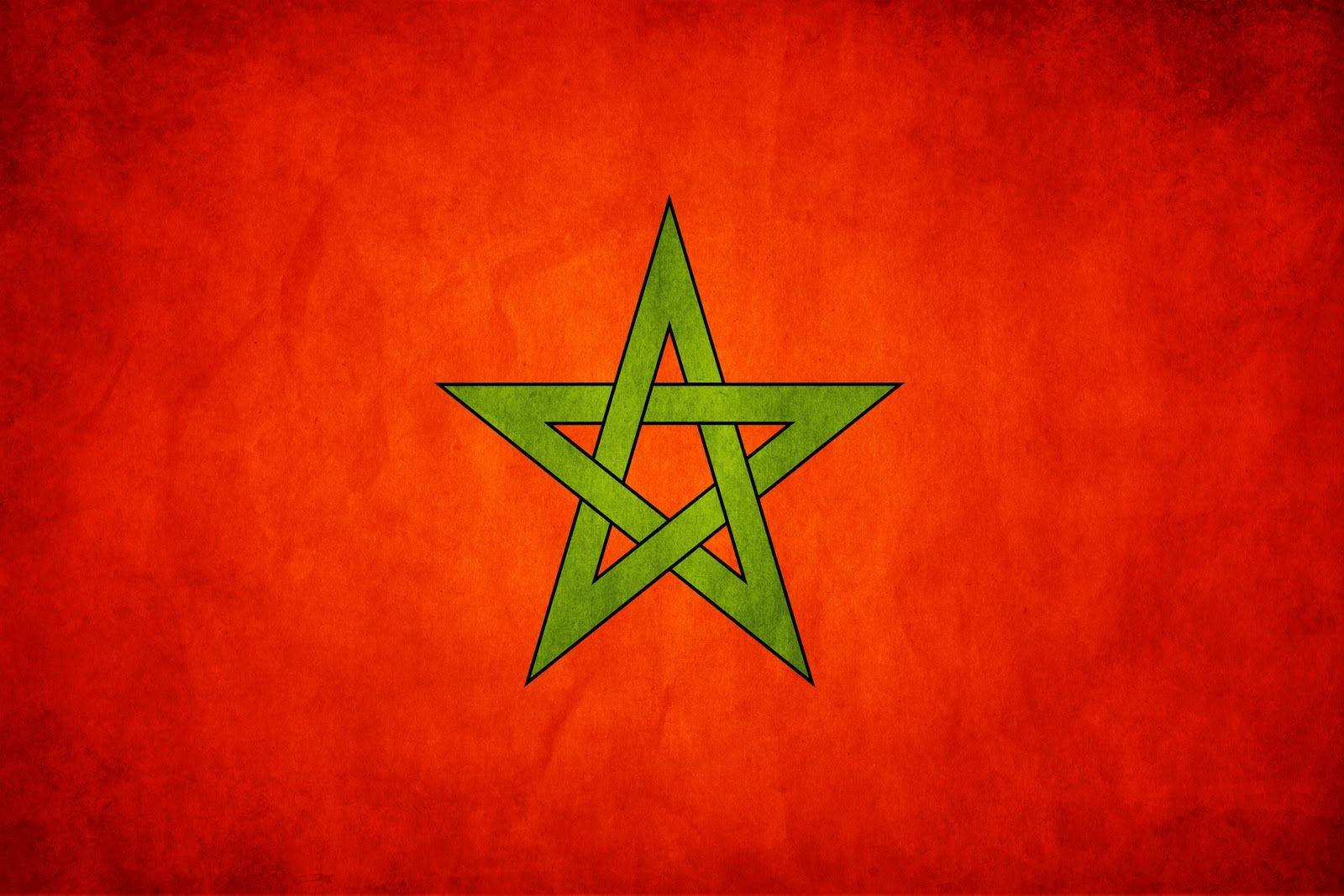 Morroccan Flag Marokko Flagge Marokko Flaggen