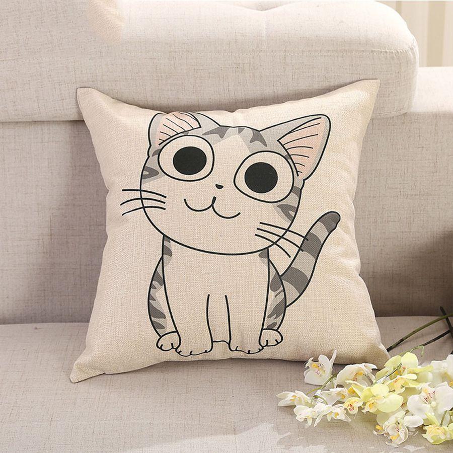 Decorative pillow kids room cushion cotton cojines decorativos