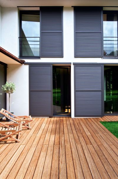 Security Gate With Images Modern Shutters Shutters Exterior
