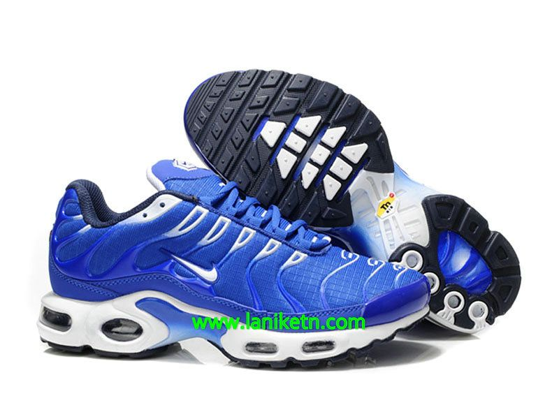 Nike Air Max TN 2013 Running Shoes Blue White Black