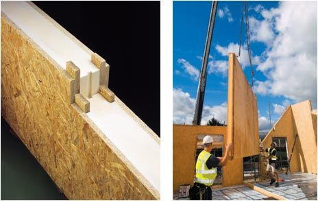 Tek Building System Structural Insulated Panels Open Web