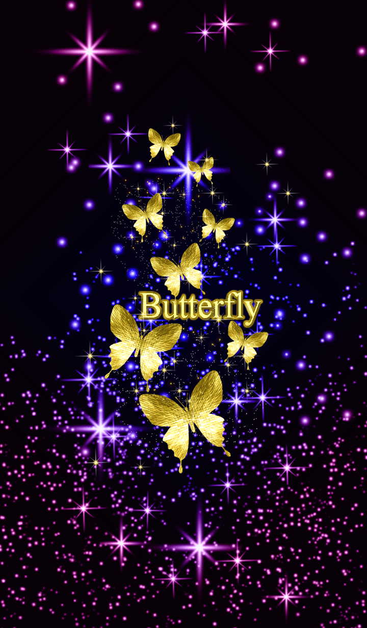 8 Gold Butterfly Will Bring Good Luck For You 8 Is So Nice Number Check It Out Butterfly Wallpaper Butterfly Wallpaper Backgrounds Butterfly Art