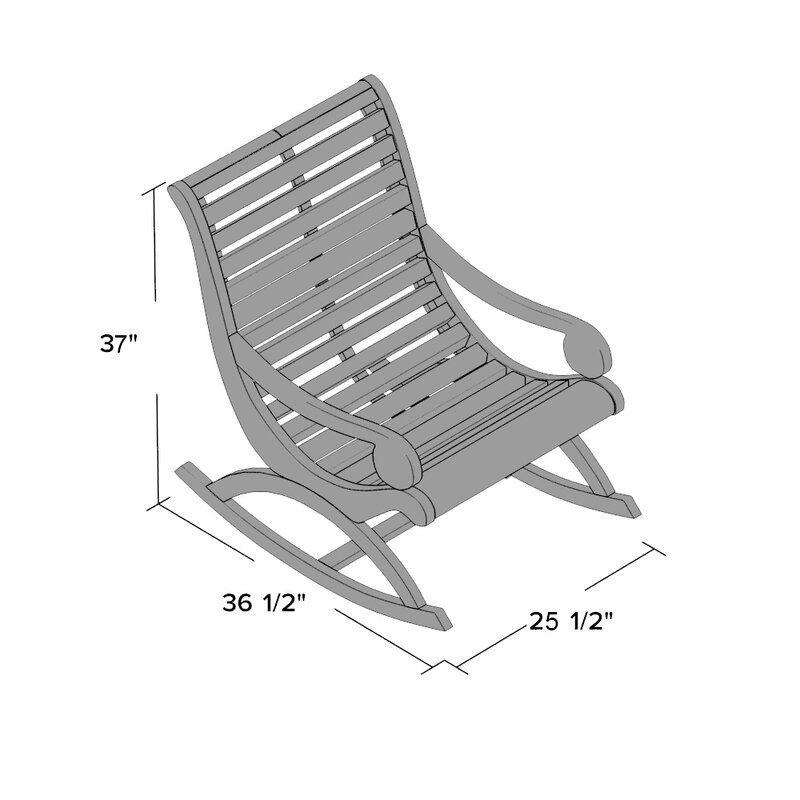 Alcott hill thomson rocking chair reviews wayfair in
