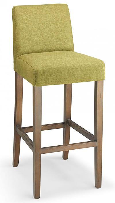 farzom green fabric seat kitchen breakfast bar stool