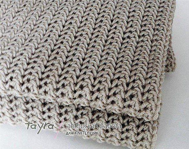 шарфы, палантины   Вязаное одеяло, Вязание, Вязаное покрывало