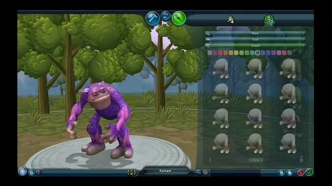 creator Spore creature