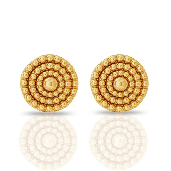 Buy Round Gold Earring #Round Gold Earring price in India #Round ...