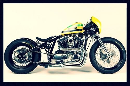 This Custom Ayrton Senna Tribute Motorcycle Is Amazing