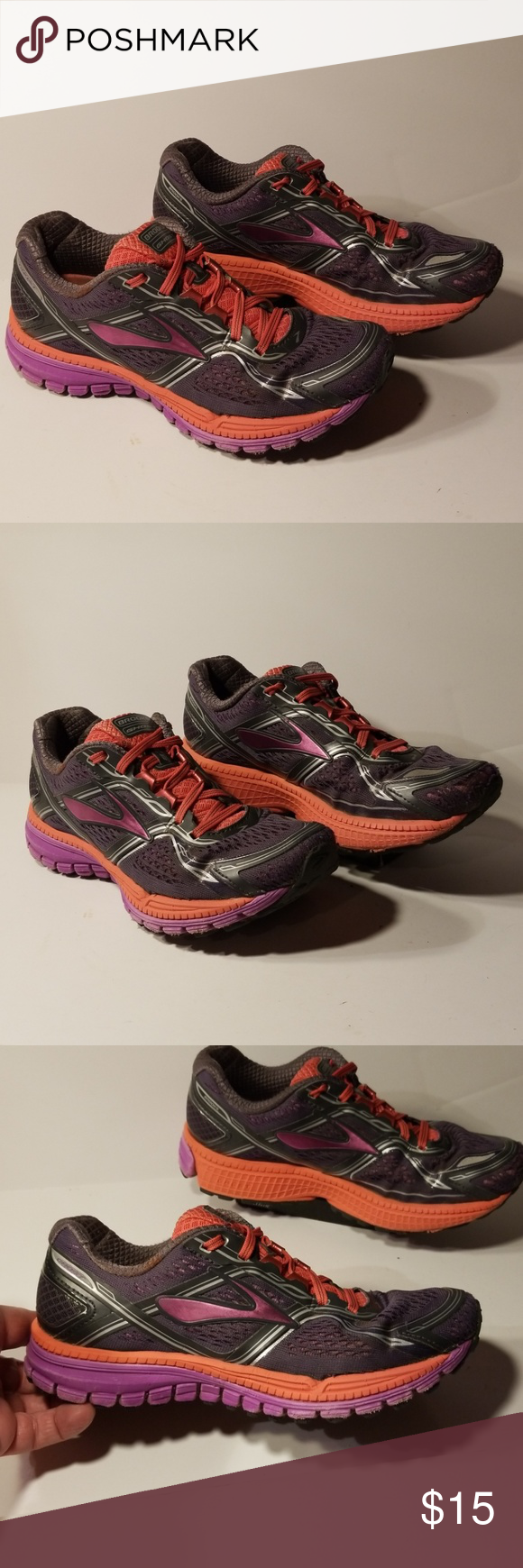 7d505eadf65 Brooks Ghost 8 women s shoes size 7.5 B Good used condition shoes Brooks  Shoes Athletic Shoes