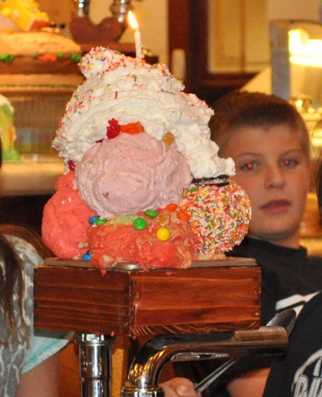Kitchen Sink Ice Cream Man Vs Food Adam Screams for Ice Cream Travel ...