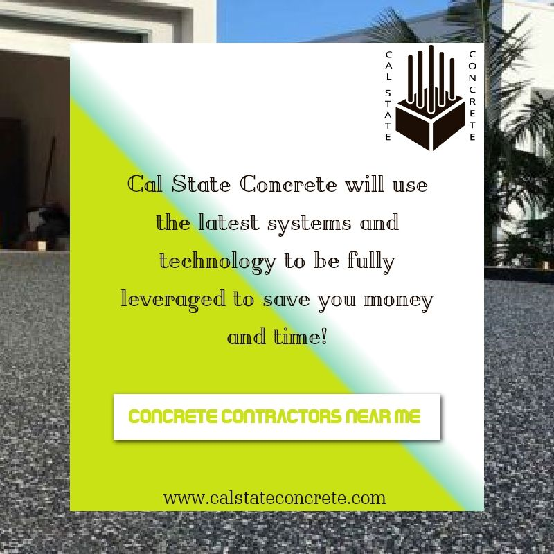 According To Cal State Concrete The Biggest Concrete Contractors Near Me The Contractors Need The Knowledge Underst Concrete Contractor Cal State Contractors