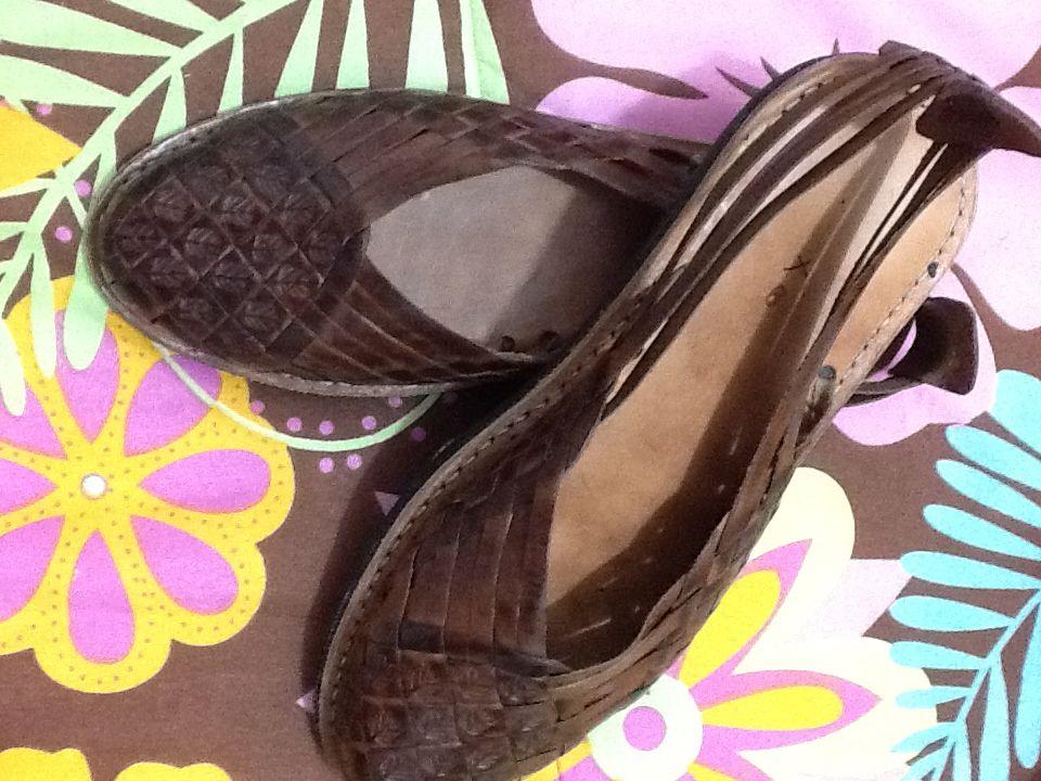 Zapatos hechos en Yucatán, México