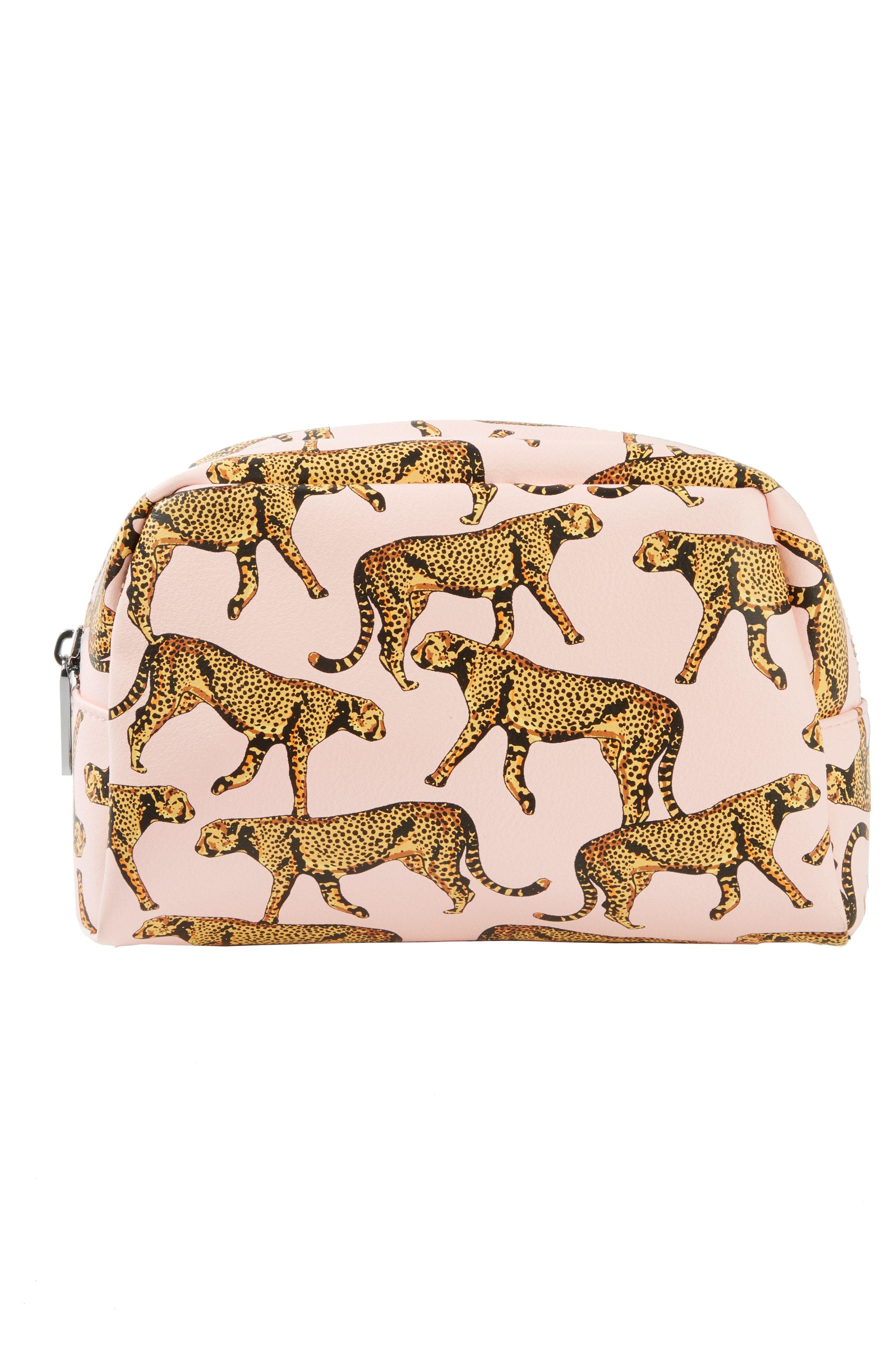 Skinny Dip True Leopard Makeup Bag giftideas Leopard