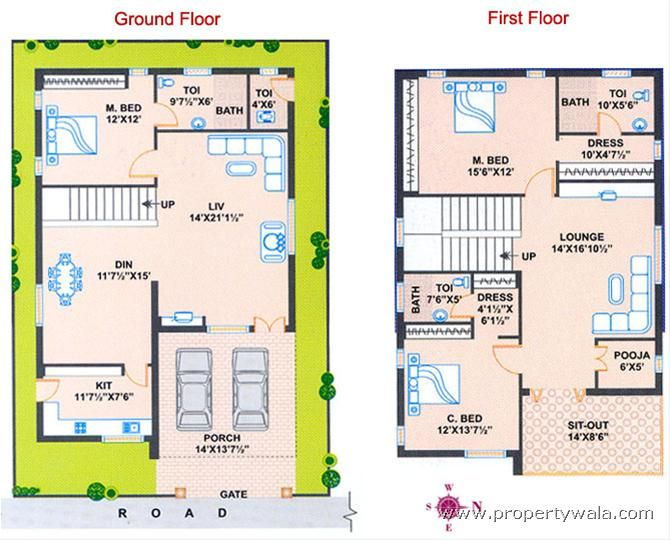 Vastu House Plans East Facing House Pdf Vastu House Indian House Plans House Plans