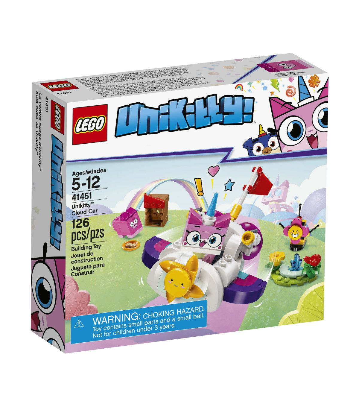 Party Time ***Lego Bundle*** Unikitty Dr Fox Puppycorn 41452 /& 41453 /& 41454
