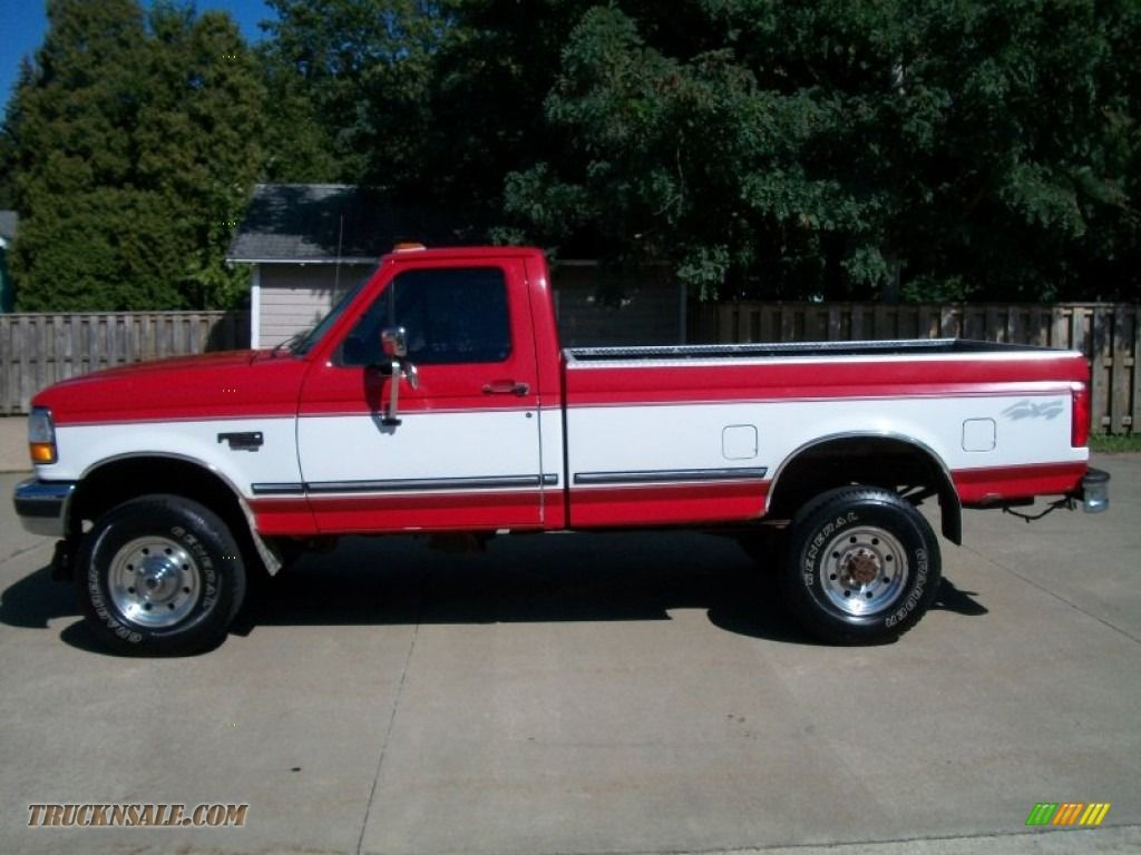 1979 f350 1997 ford f350 xlt regular cab 4x4 in vermillion red photo 8 c68946