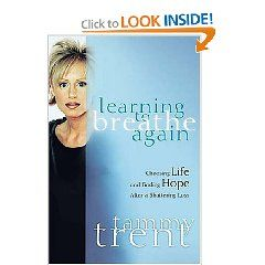 this one is a good nonfiction read.  Heartbreaking story, with lots of meaning!  Learning to Breathe again by Tammy Trent