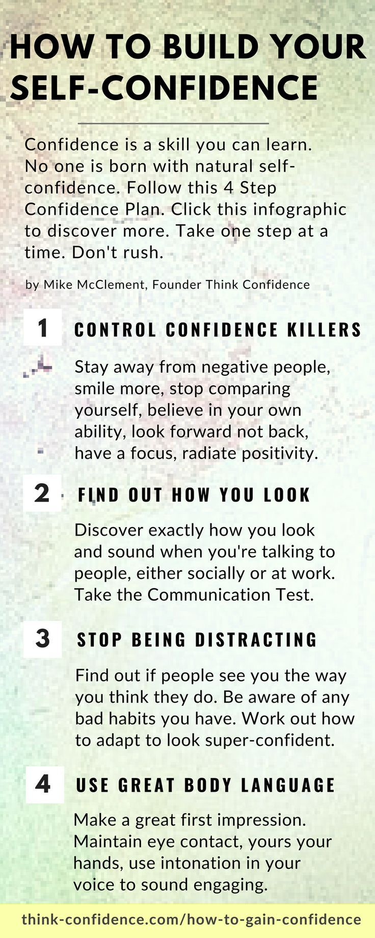 How to Gain Confidence in 4 Logical Steps Think