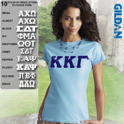 19ba1a81 Sorority SoftStyle Printed T-Shirt $15.95 #Greek #Sorority #Clothing