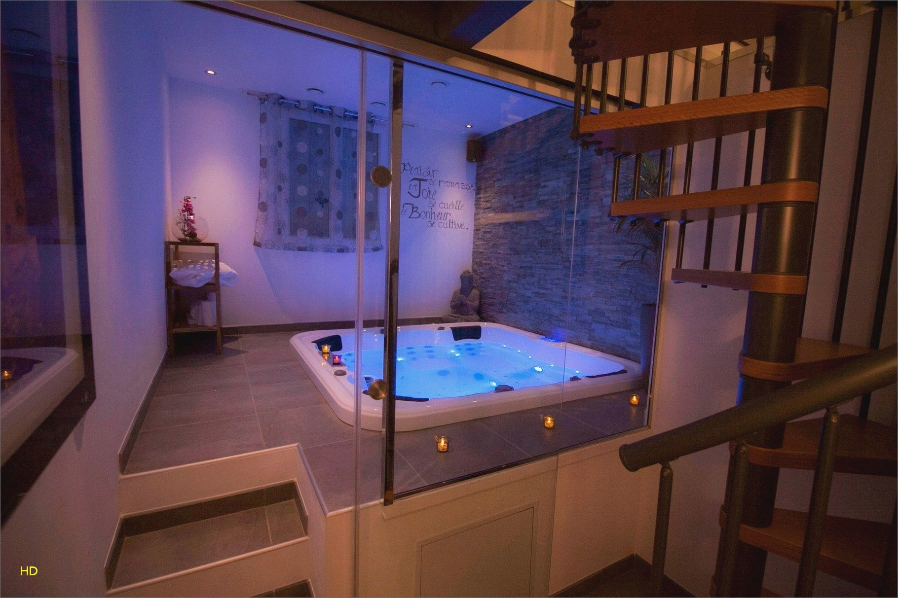 New Hotel Lyon Jacuzzi Privatif Chambre Spa Privatif Jacuzzi Interieur Jacuzzi