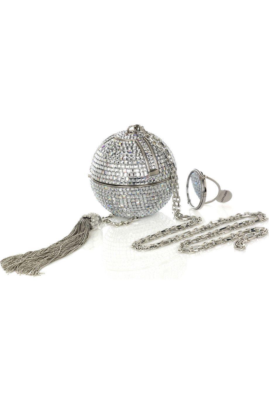 Judith Leiber Sphere clutch