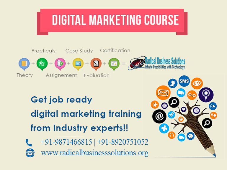 Get Digital Marketing InternshipTop FacultiesLive Project