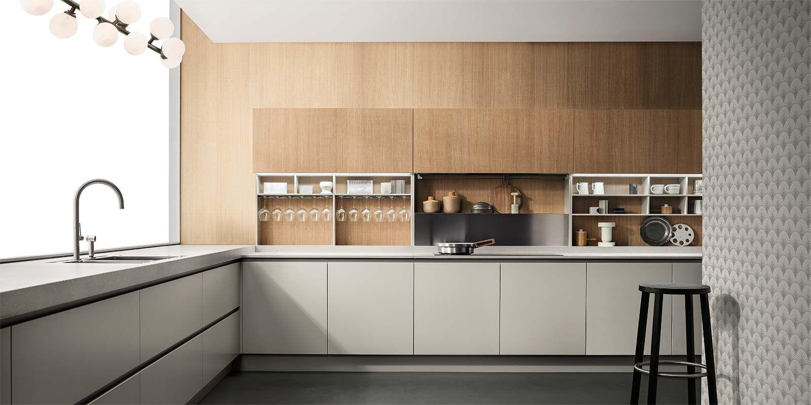 Cucine Emetrica - Cucine Moderne di Design - Ernestomeda   Kitchen ...