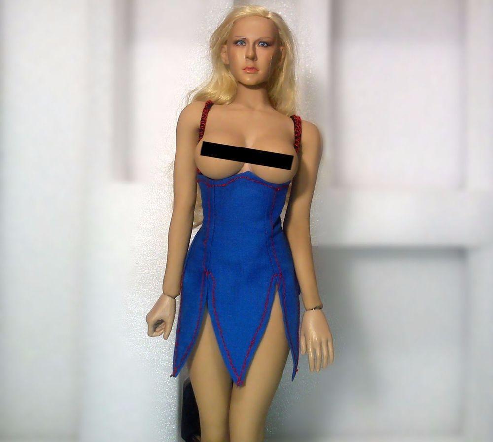 18de287d793 FOR PHICEN female Hot Toys Kumik Cy girl FAIRY DRESS ONLY CUSTOM 1/6  CLOTHES #brandnew