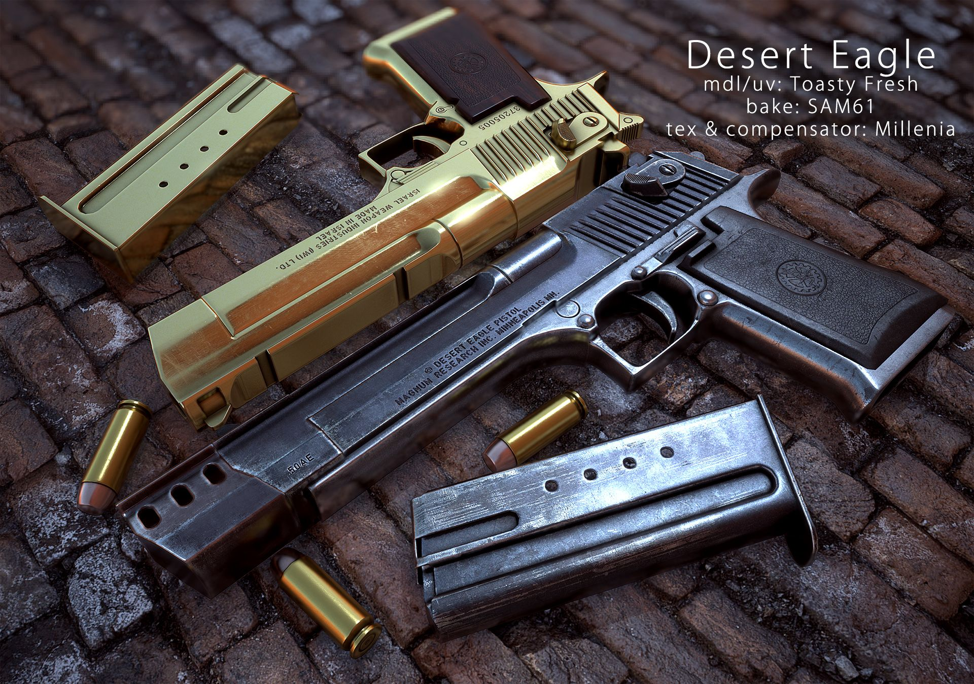 IMI Desert Eagle at Fallout New Vegas mods and community