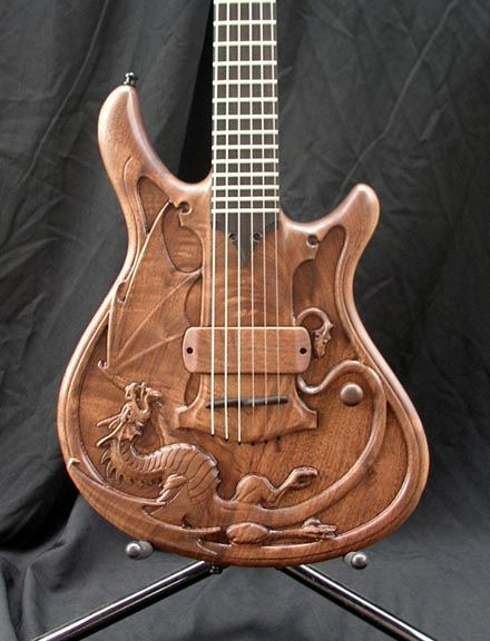 Dragonwing ~ handmade by William Jeffrey Jones. This has to be of the most beautiful guitars I have ever seen ♥