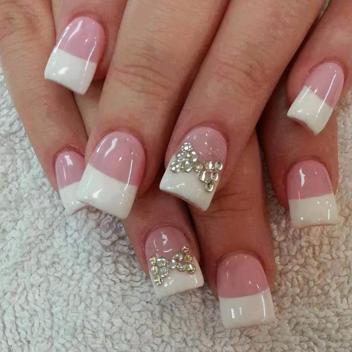 45+ Awe-Inspiring French Manicure Ideas to Show Off the Most Stylish ...