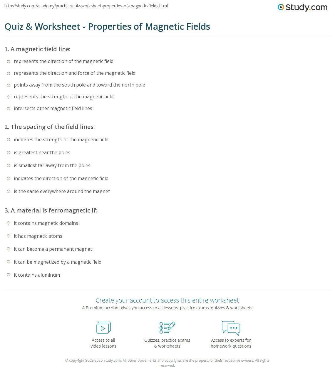 Magnet Worksheets For Kindergarten Magnets Prehension