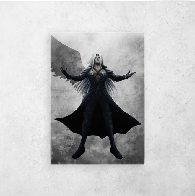 #metalprints #wallart #poster #print #ff7remake | Displate thumbnail