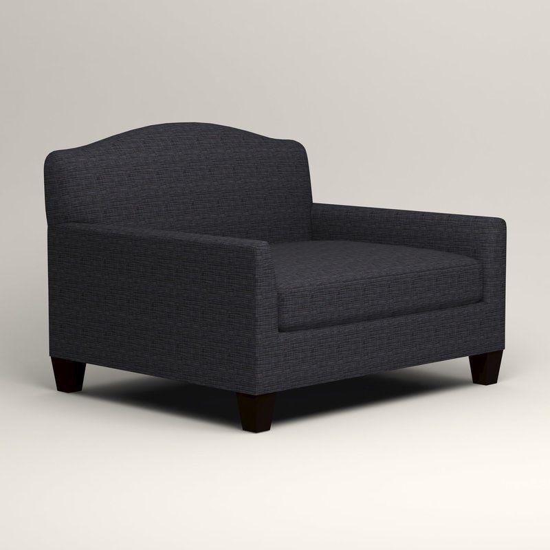 Fairchild chair and a half retro office chair chair and