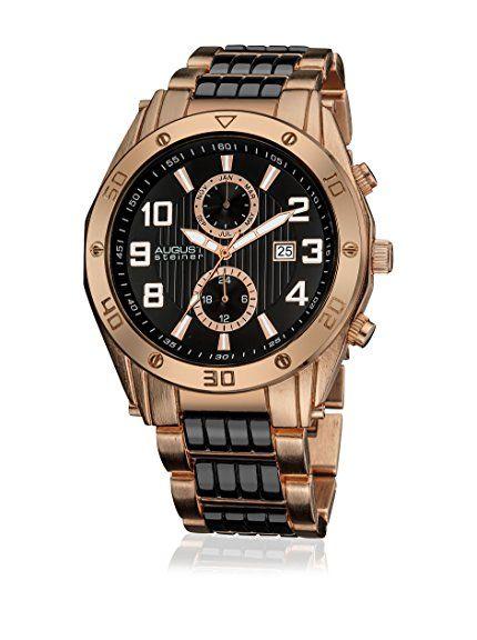 Man De August Buyvip 45 En As8070rg Mm Reloj Cuarzo Steiner Amazon JclFuT1K3