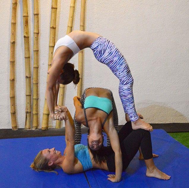 Three Person Acroyoga Acro Yoga Poses Three Person Yoga Poses 3 Person Yoga Poses