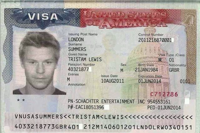 what information is on a us passport