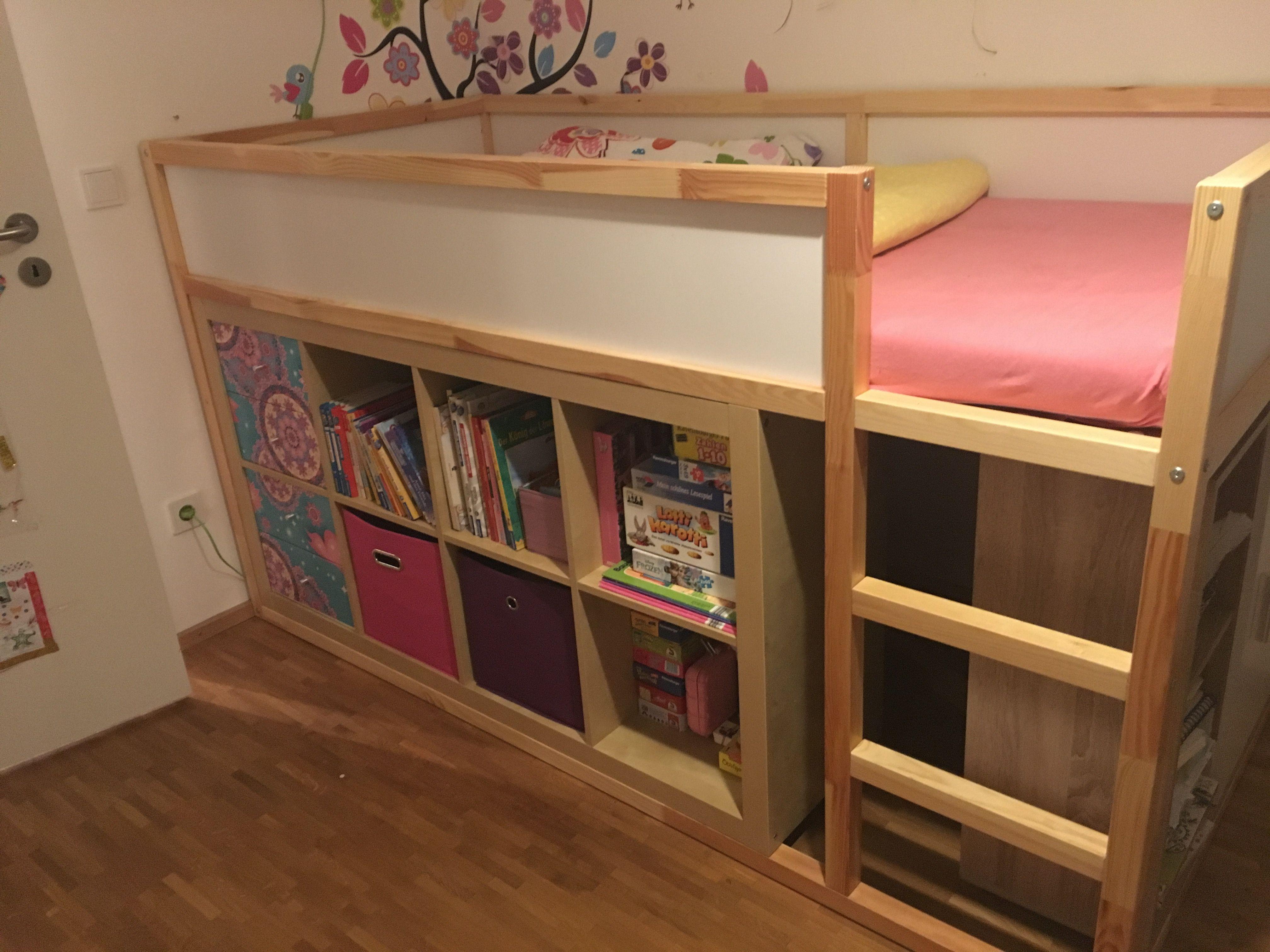 IKEA KURA KALLAX HACK | Avetts bed and bath | Pinterest | Kind