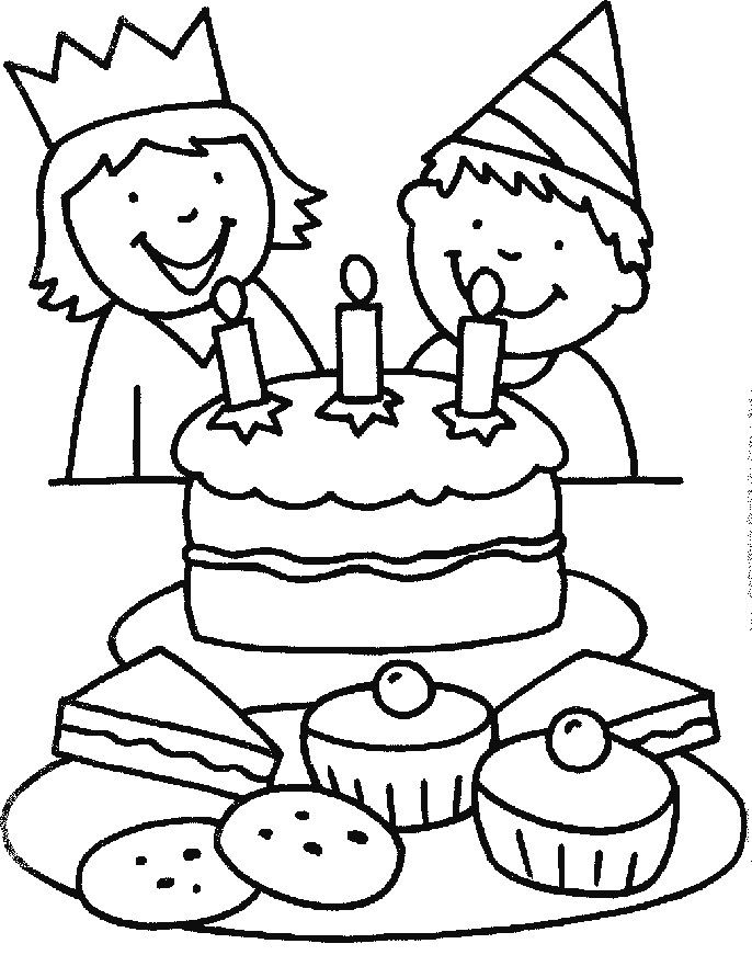 Celebrate Your Birthday With Nephew Coloring Pages ...