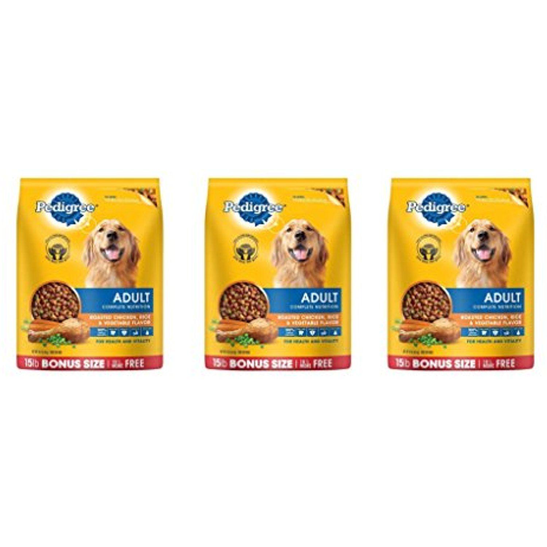 Pedigree Complete Nutrition Adult Dry Dog Food Bonus Bags Raguuh