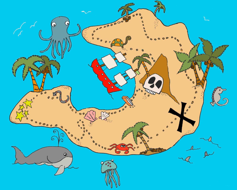 Treasure Maps For Kids treasure map | Baby | Pinterest | Treasure maps, Pirates and  Treasure Maps For Kids